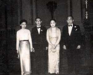 Sao Hom Noan, Sao Hseng Ong, Sao Hearn Kham and Sao Shwe Thaike.