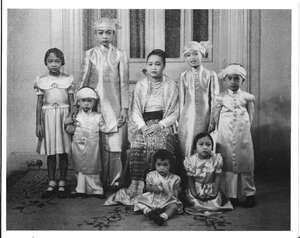 Mahadevi and Family